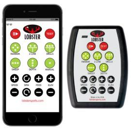 20-функциональный пульт управления + wifi ресивер для теннисной пушки Lobster Elite Grand (4-5) и Phenom